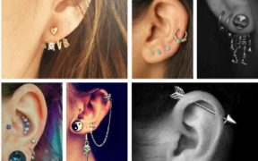 cute ear piercings for females