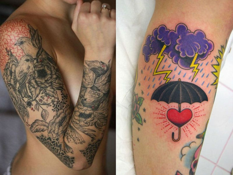tattoo sleeve ideas for women