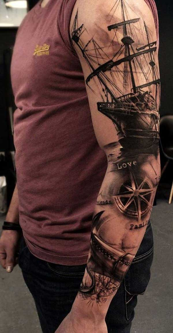 sleeve tattoo ideas for men