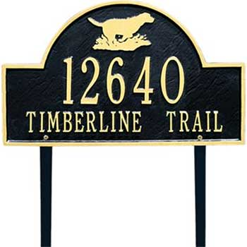 Address/Street Signs Inspired Plaques